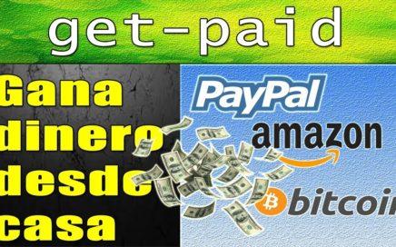 Get-Paid Tutorial | Dinero a Paypal, Bitcoin y Tarjetas de Regalo (Retiro mínimo 0.50$) | Gokustian
