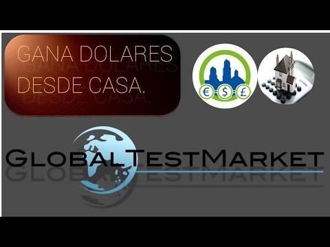 Global Test Market encuestas. Ganando Dinero en Casa | Derrota la Crisis.