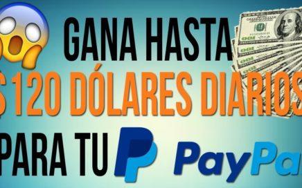 ¡IMPRESIONANTE! CONSEGUI GANAR 120$ EN UN DIA - COMO GANAR DINERO PARA PAYPAL