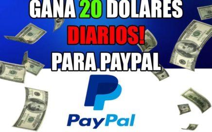 ¡IMPRESIONANTE! ESTRATEGIA EFICAZ PARA GANAR 20$ DOLARES DIARIOS - COMO GANAR DINERO PARA PAYPAL