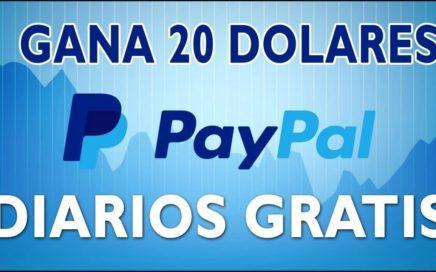 ¡IMPRESIONANTE! GANO 20$ DIARIOS - COMO GANAR DINERO PARA PAYPAL