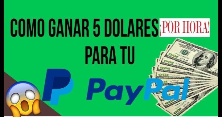 ¡IMPRESIONANTE! GANO 5$ POR HORA - COMO GANAR DINERO PARA PAYPAL
