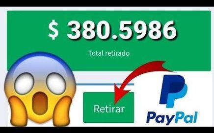 INCREÍBLE APP PARA GANAR 20 USD EN PAYPAL/Ganar Dinero PayPal Brutalmente + COMPROBANTE DE PAGO 2018