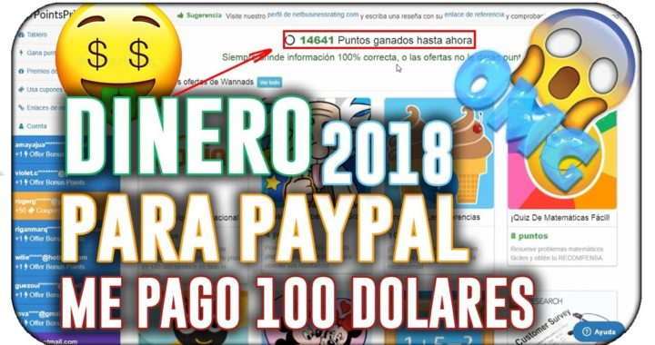 ¡INCREÍBLE! ME PAGAN 100$ DIARIOS | COMO GANAR DINERO EN PAYPAL [COMPROBANTE DE PAGO - JUNIO 2018]