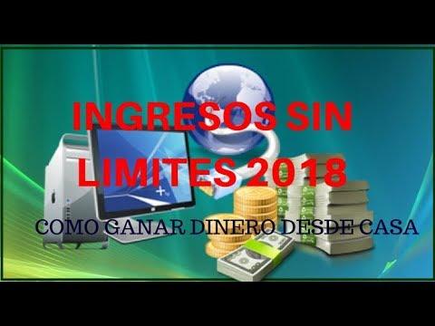 Ingresos SIN LIMITES 2018 Gana Dinero desde Casa