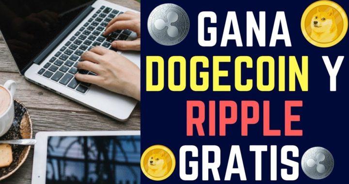 LAS MEJORES FAUCET PARA GANAR DOGECOIN Y RIPPLE GRATIS 2018   Dinero Gratis por Internet