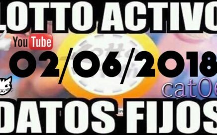 LOTTO ACTIVO DATOS FIJOS PARA GANAR  02/06/2018 cat06