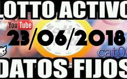 LOTTO ACTIVO DATOS FIJOS PARA GANAR  23/06/2018 cat06
