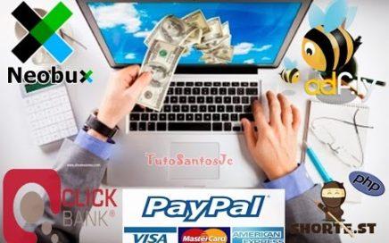 Mejores paginas para ganar dinero por Internet | Sin inversión y 100% real, actualizado 2018