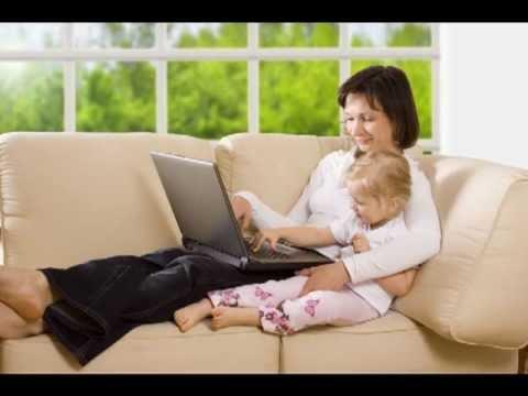 Mira como ganar dinero desde casa. Mujeres exitosas que trabajan en casa.