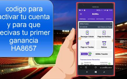 NO SABES QUE ES BILLMO? VE ESTE VIDEO Y GANA DINERO DESDE TU CELULAR ANDROID