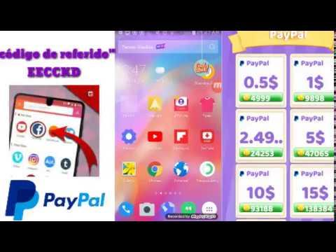 Nueva app para ganar 100$ por Paypal y50$ por registrarse 2018
