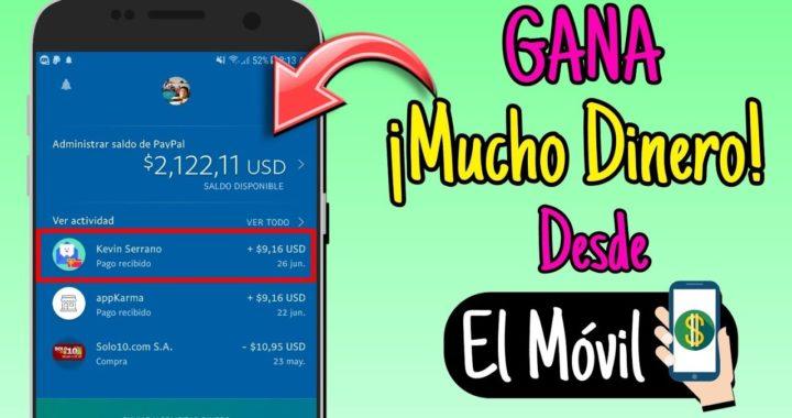 ¡Nueva Impresionante! Aplicación Para Ganar Mucho Dinero En PayPal Mientras Juegas| Hasta $10 Diario