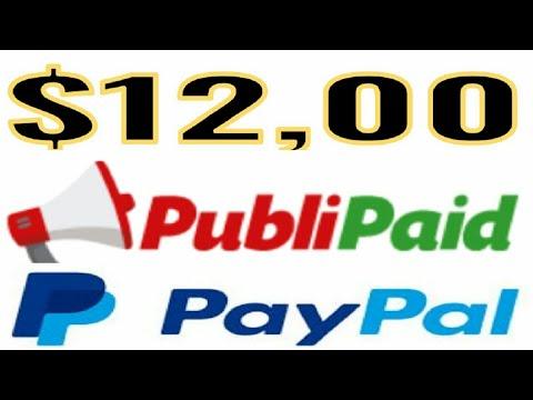 Nueva página para ganar 12$ publipaid 2018