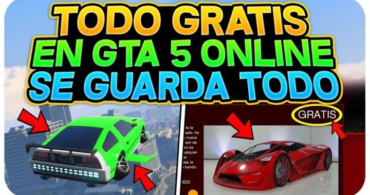 NUEVO COMPRAR TODO GTA 5 ONLINE GRATIS Y SE GUARDA! 1.43 *MUY FÁCIL* (COCHES , AVIONES Y MAS!)