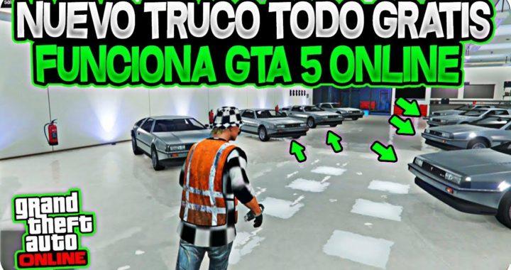 NUEVO! COMPRAR TODO GTA 5 ONLINE GRATIS Y SE GUARDA! - DINERO INFINITO MUY FACIL GTA 5 ONLINE 1.43
