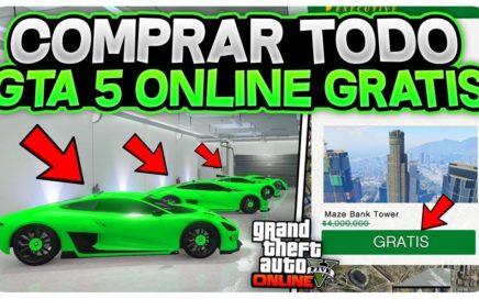 ¡NUEVO TRUCO COMPRA TODO GTA 5 ONLINE GRATIS! (COCHES , AVIONES Y MAS!) 1.43 TENER TODO GRATIS
