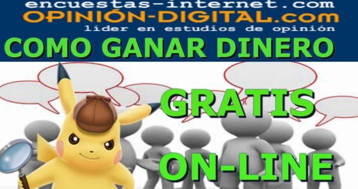 OPINIÓN DIGITAL GANA DINERO GRATIS !!! ONLINE 100% ENCUESTAS GRATIS) ESPAÑA