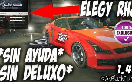 """*PARCHEADO* - SIN AYUDA - ELEGY RH8 de 1.000.000$ - GTA 5 - SIN """"DELUXO"""" -  MEJORADO - (PS4 - XB1)"""