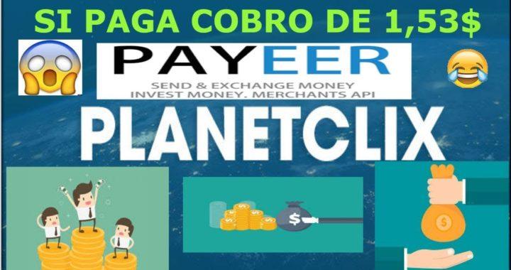 PLANETCLOX.NET SI PAGA PRUEBA DE PAGO 1.53 DOLARES