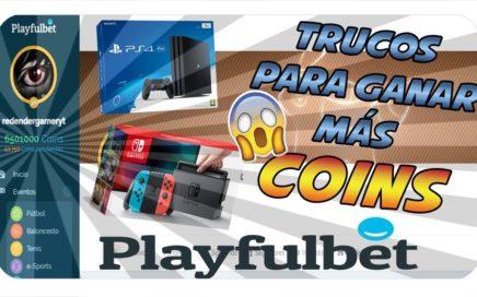 PLAYFULBET TRUCOS DEFINITIVOS PARA GANAR COINS Y CONSEGUIR PREMIOS!! JUNIO 2018 (NO HACKS)
