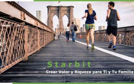 Presentación Starbit (Gana Dinero Por Caminar)