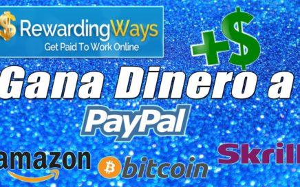 Rewarding Ways Tutorial | Gana Dinero Rápido y Fácil a Paypal (Mínimo de Pago 1$) | Gokustian