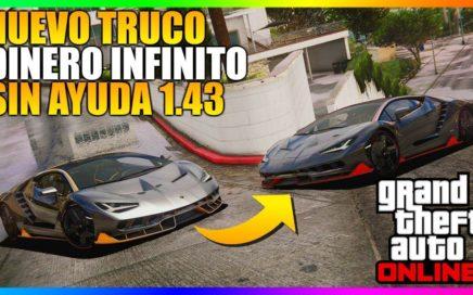*SIN AYUDA* NUEVO TRUCAZO DINERO INFINITO SUPER FÁCIL! 1.43 [DUPLICAR COCHES SOLO] | GTA 5 ONLINE