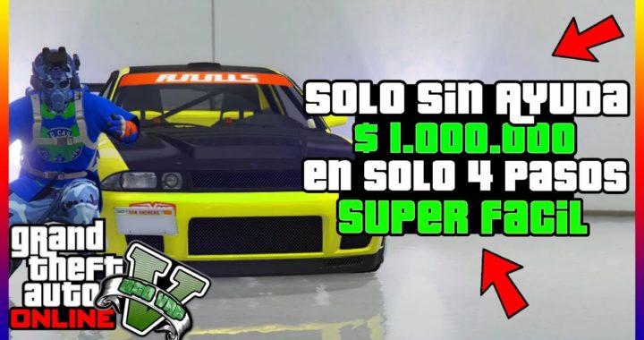 """*SOLO* COMO GANAR MILLONES EN 4 PASOS """"GTA V ONLINE"""" DINERO INFINITO 1.43"""