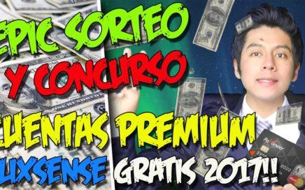 SORTEO Y CONCURSO CUENTAS PREMIUM CLIXSENSE GRATIS | Gana dinero por internet 2017