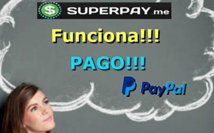 SuperPay.me Funciona!!! Pago Paypal|Gana dinero Gratis Con Tareas |