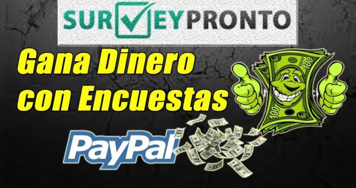 SurveyPronto Gana Dinero a Paypal con Encuestas Remuneradas (5$ Gratis) | Gokustian