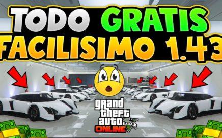 ¡TODO GRATIS! *SUPER FÁCIL* IDEAL PARA EL NUEVO DLC 1.44 *TODO SE GUARDA* [PS4-XBOX] GTA V ONLINE