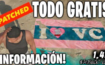 """*TODO GRATIS* - TRUCO """"PARCHEADO"""" - GTA 5 - GLITCH PATCHED - INFORMACION"""