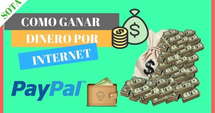 TOP 5 Mejores Paginas para Ganar Dinero por Internet 2018 FIABLE | Sin Invertir y REAL