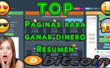 Top de Paginas para Ganar Dinero | Criptominingame, pagos, explicacion y + | Resumen Parte 1