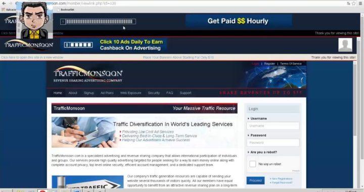 Trafficmonsoon 2015   Como Funciona   Estrategia Septiembre 2015   Ganar Dinero Rápido Para PayPal