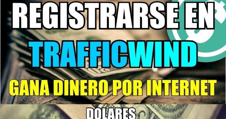Trafficwind La MEJOR PTC del 2018 | Gana 1$ diarios con Trafficwind