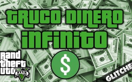 TRUCO DINERO INFINITO GTA 5 ONLINE|100% LEGAL