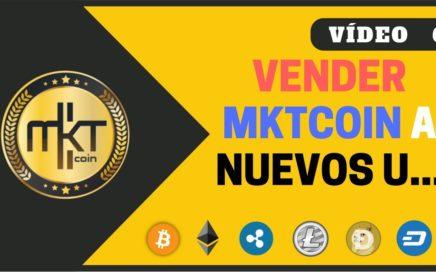 VÍDEO 6 | Como Vender y Enviar MktCoin a Clientes Externos