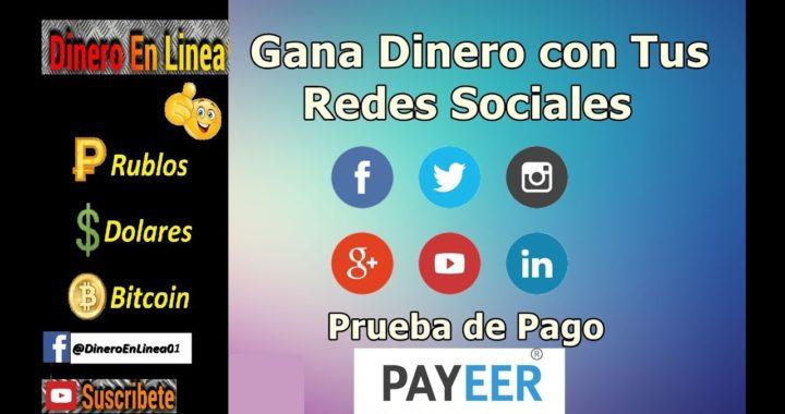 Vk Target   Gana Dinero con Tus Redes Sociales   Paga por Payeer y PayPal