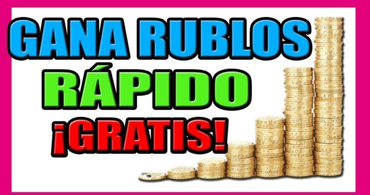 Wellclix Gana Rublos Rapido Sin Invertir | Dinero en Internet