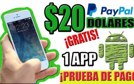 20 Dolares con 1 app Android | Dinero con el Celular