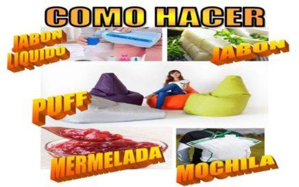 5 PRODUCTOS QUE PUEDES HACER EN CASA Y VENDERLOS CON INSTRUCCIONES