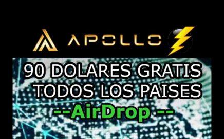 Apollo Airdrop Como Ganar 90 Dolares Gratis en Tokens