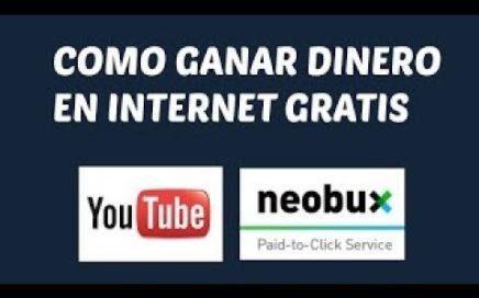 Aprende  a Usar Neobux ! (Gana Dinero Online Facil ) u$d 20 Diarios