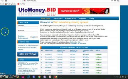 Atención con esta página para ganar dinero y trabajar desde casa - 2018