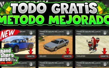 COCHES, AVIONES Y MÁS!! *TODO GRATIS* NUEVO MÉTODO +RÁPIDO Y FÁCIL! SE GUARDA! GTA 5 ONLINE 1.43