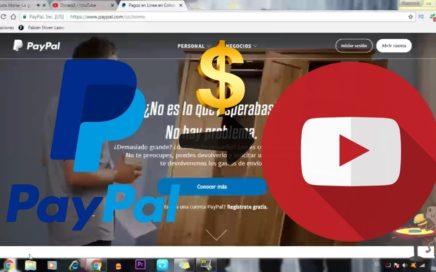 Como asociar mi cuenta de Paypal con Youtube y Ganar Dinero | Facil y Rapido