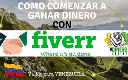 Como Comenzar a Ganar Dinero Con Fiverr (tercer video de la serie) - Tu Dinero Online